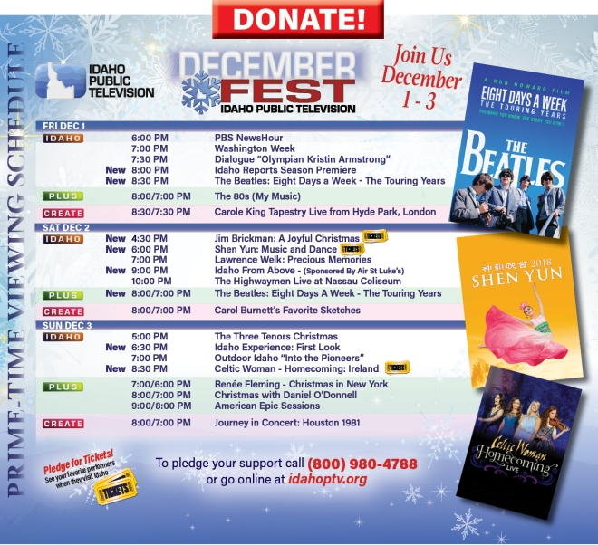 Donate during DecemberFest 2017
