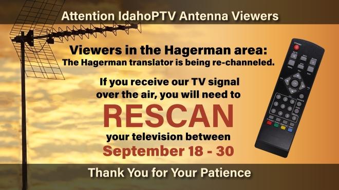 Hagerman Rescan
